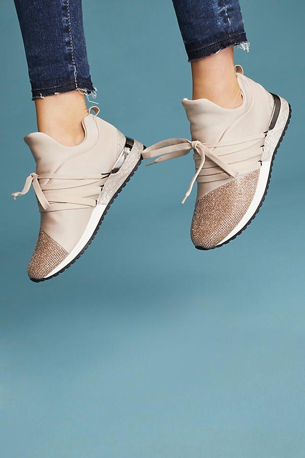f20e43d75ca5e J/Slides Zorro Metallic Sneakers | My style | Metallic sneakers ...