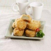 NUGGET DAGING MAKARONI http://www.sajiansedap.com/mobile/detail/3628/nugget-daging-makaroni