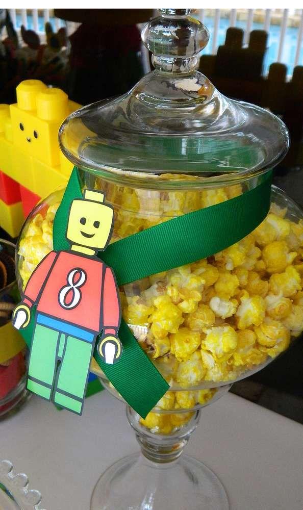 Lego theme Birthday Party Ideas | Photo 1 of 19 | Catch My Party