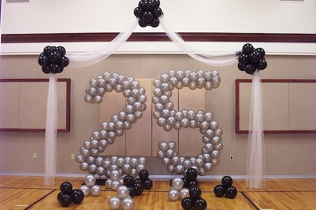 1000 images about 25th anniversary party on pinterest for 25th birthday decoration ideas