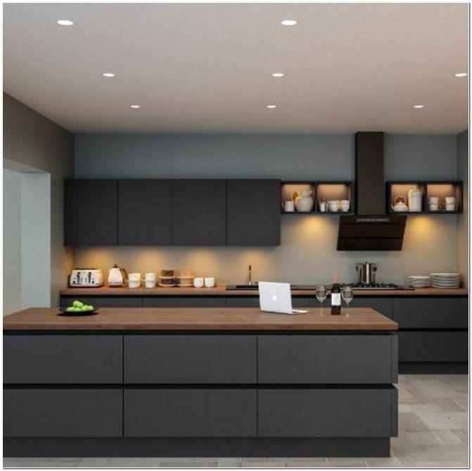 55 Modern Luxury Kitchen Design Ideas That Will Inspire You In 2020 Contemporary Kitchen Design Kitchen Interior Modern Kitchen
