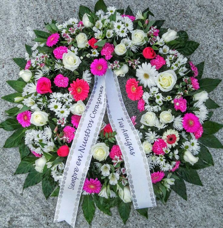 68 best coronas de flores para difuntos images on pinterest - Coronas de flore ...