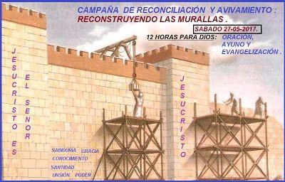 ORIENTACIONES PARA VIVIR MEJOR.: CAMPAÑA DE RESTAURACIÓN Y AVIVAMIENTO: RECONSTRUYE...