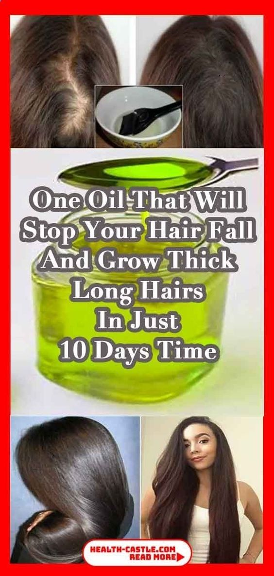 ONE OIL THAT WILL STOP YOUR HAIR FALL AND GROW THICK LONG HAIR IN JUST 10 DAYS