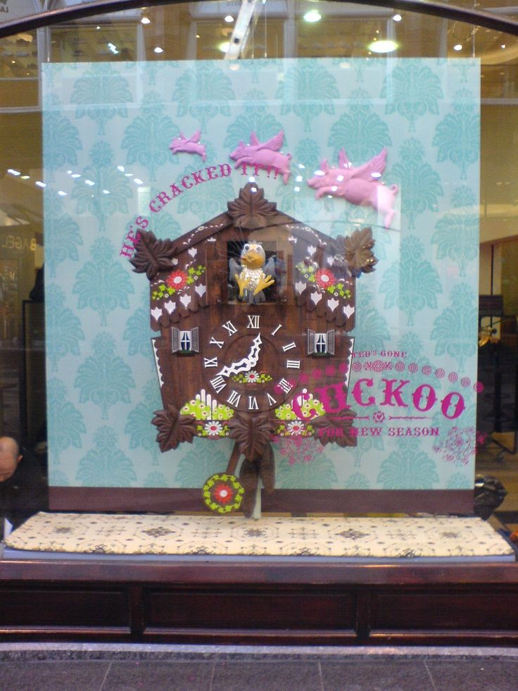 Ted Baker window display