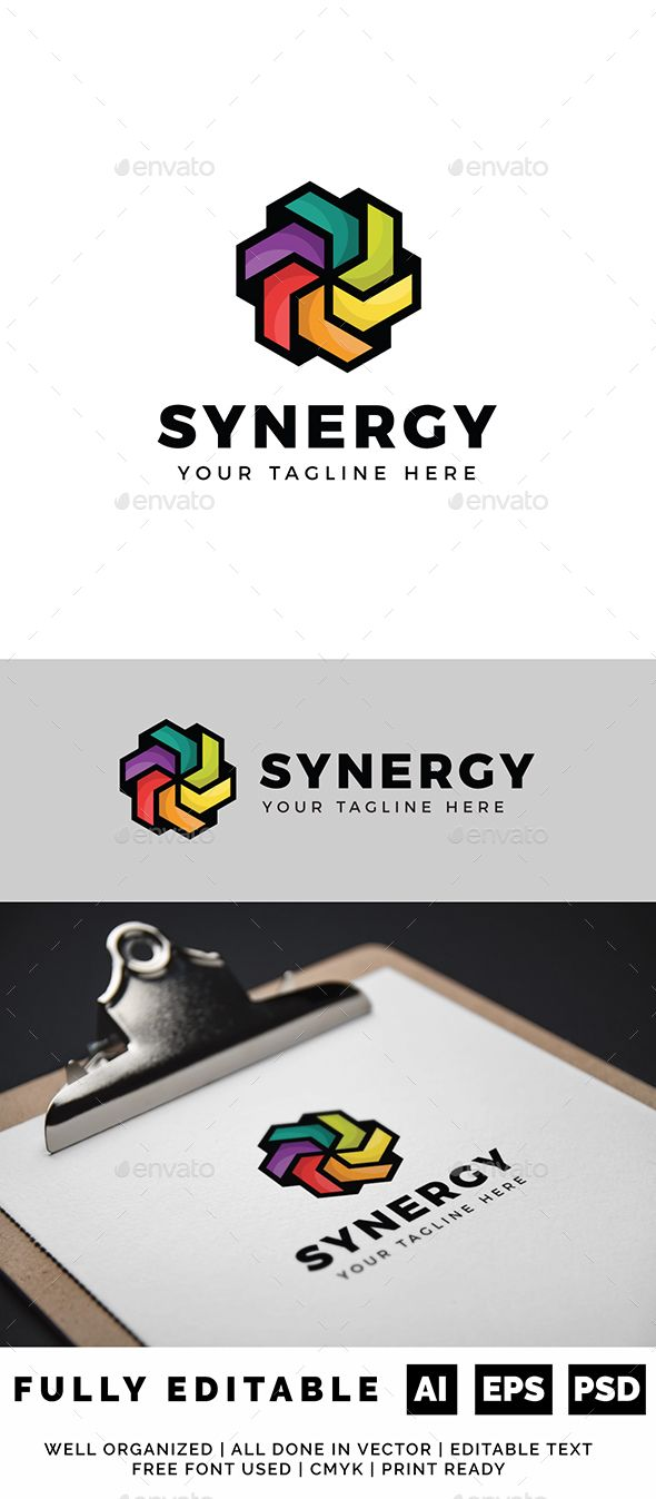 "Color Synergy Logo Objects Logo Templates ""Color Synergy Logo"
