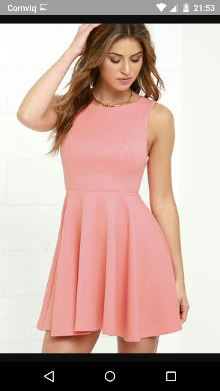 Mejores 9 imágenes de cute pink dresses en Pinterest | Vestidos de ...