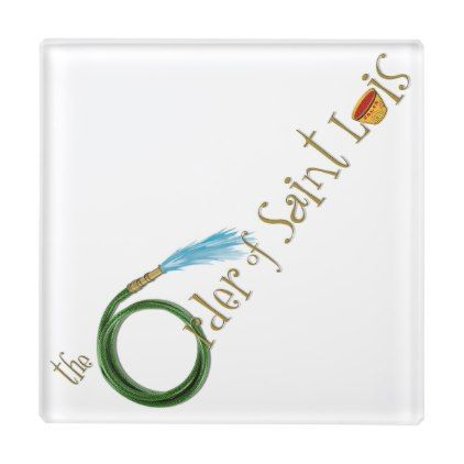 Order of St. Luis Logo Coaster - logo gifts art unique customize personalize