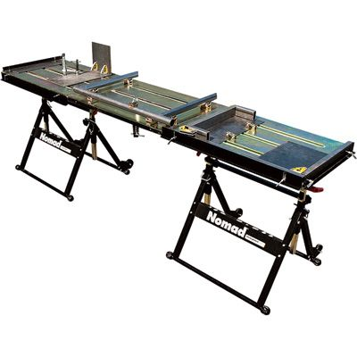 Strong Hand Tools Nomad Extended Table and Tools Kit — 90in.L x 20in.W x 32in.H