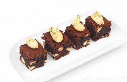 Chocolate and Almond Brownies Recipe - Great British Chefs