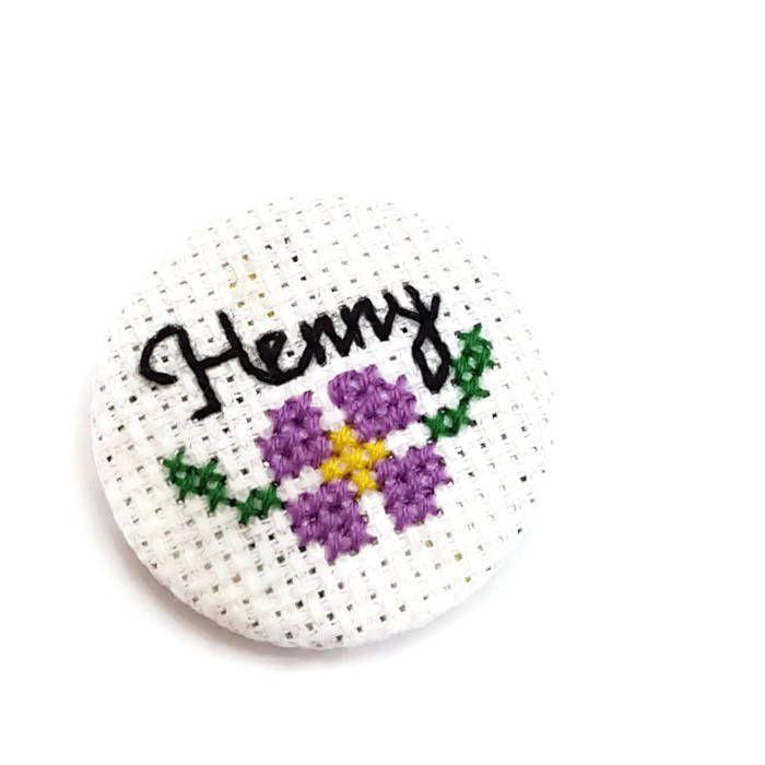 Henny Pin- Stacy Layne Matthews Brooch-Jacket Lapel Pin-Bag Flair-Cute Badge-38mm-Pinback Button-Drag Race Fan-Catchphrase--Handmade Gift