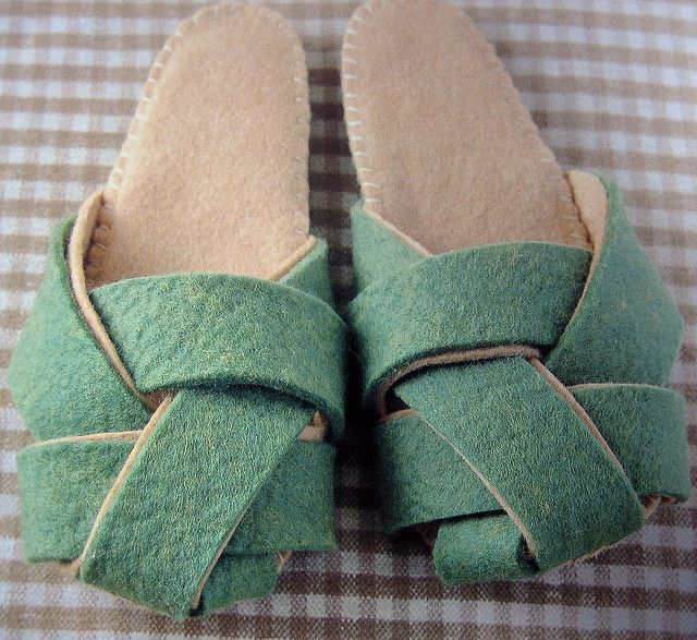 felt slippers, want to make for me