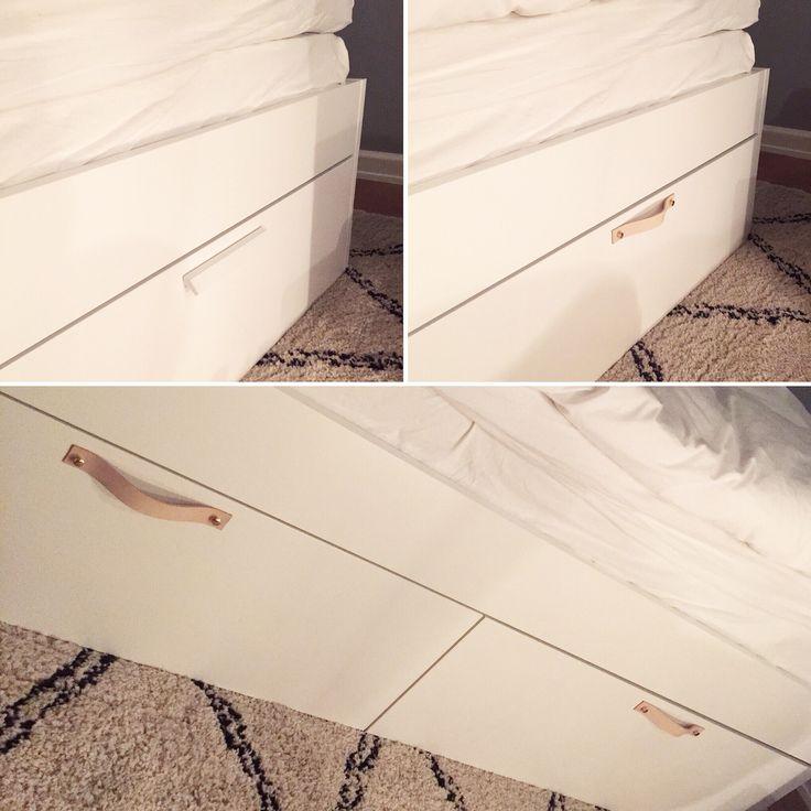 Ikea hack på  Brimnes säng | diy bed