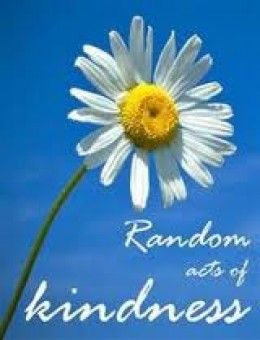 Another list of random acts of kindness for ideas