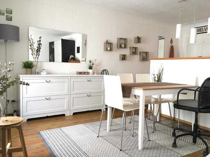 Schöner Gemütlicher Esszimmerbereich In Einer Kleinen Stadtwohnung.  #Wohnbereich #Esszimmer #interior