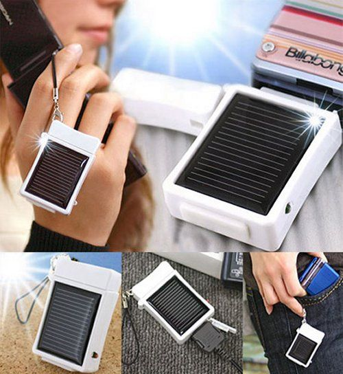 Solar Phone Charger -- Curated by ProWireless Ltd 105-1110 Harvey Ave Kelowna BC V1Y 6E7 (250) 469-6700
