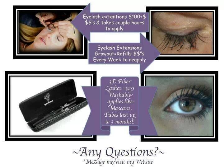 Did you ever consider eyelash implants???? This is just a very expensive procedure that looks to be painful! 3D fiber lashes can give you fake looking lashes without this!   Younique 3D Fiber Mascara $29.00 for a 2-month supply.  Click here to shop! https://www.youniqueproducts.com/carol
