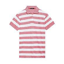 Buy Gant Oxford Breton Stripe Polo Shirt Online at johnlewis.com