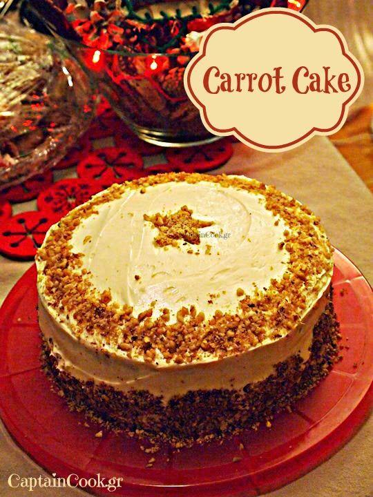 Captain Cook: Carrot Cake - Κέικ Καρότου