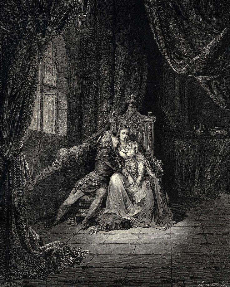 The Inferno, Canto 5 - Gustave Dore