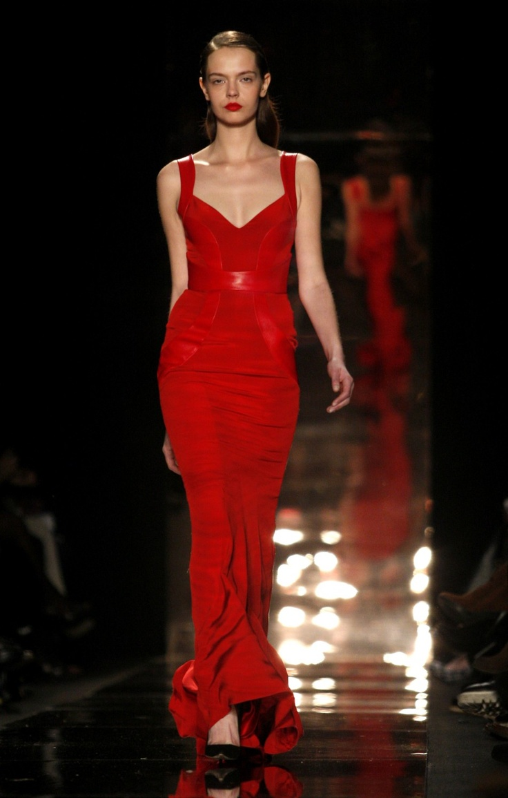 Best of New York Fashion Week 2012: Glamorous Evening Gowns and Chic Pumps [PHOTOS] - International Business Times#page1
