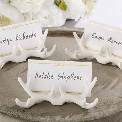 Antler Place Card Holder by Beau-coup