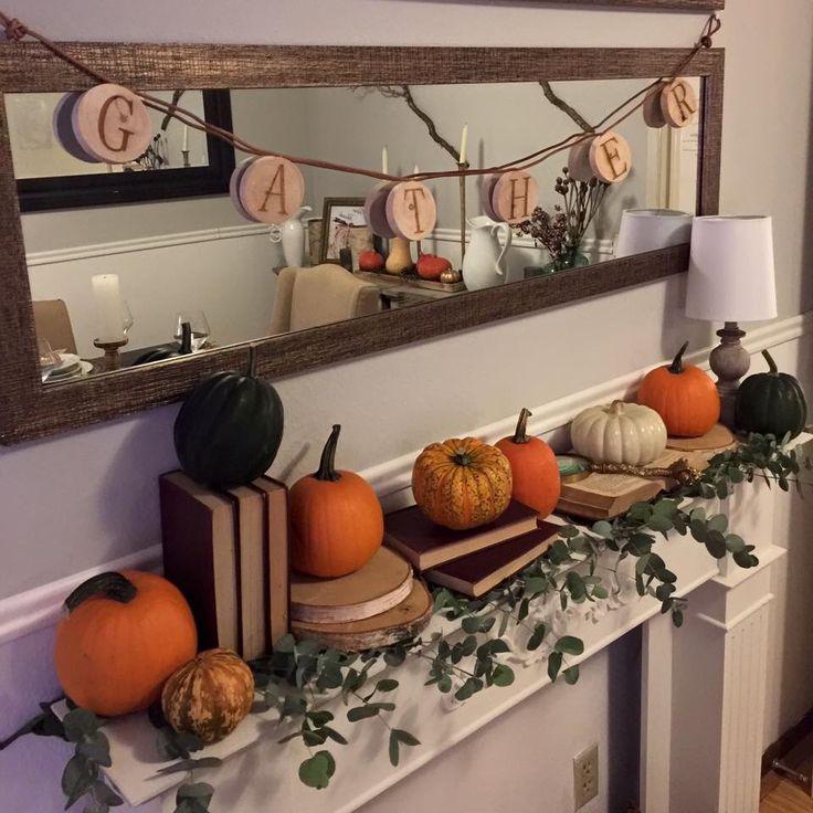 76 house thanksgiving decor