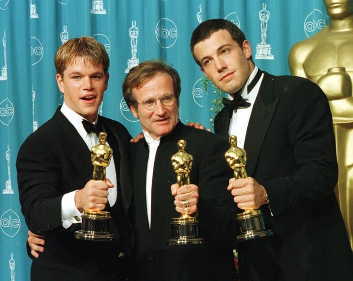 On The Hunt Robin Williams Matt Damon Hollywood Stars
