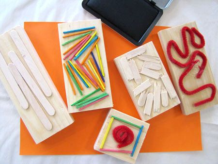 DIY Stamps | 25 Of The Best Toddler Crafts For Little Hands