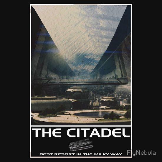 The Citadel.  #MassEffect #MassEffect2 #MassEffect3 #Citadel #TheCitadel