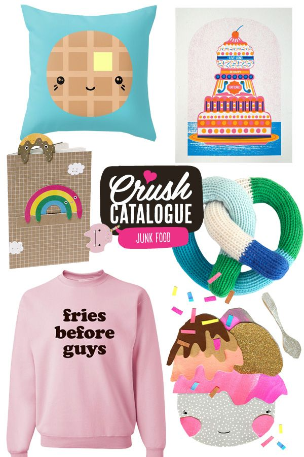 Mollie Makes - Junk Food fashion and décor