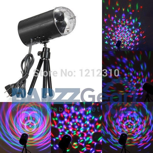Crystal Magic Ball Laser Stage Lighting RGB Party Supply