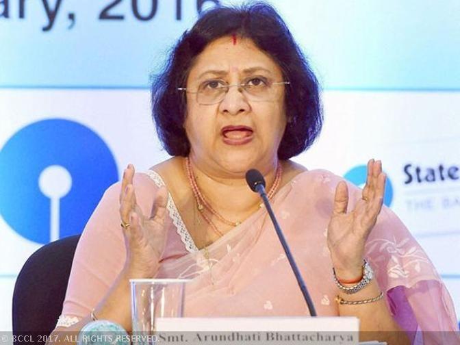 Arundhati Bhattacharya: PSB mergers should be between equals: SBI Chief Arundhati Bhattacharya - The Economic Times