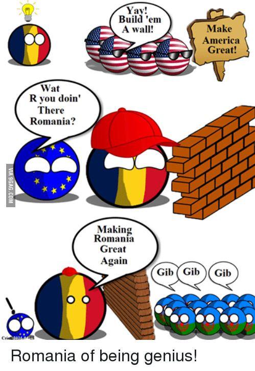 Make Romania great again - 9GAG