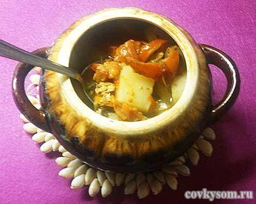 Чанахи в горшочках, рецепт вкусного блюда