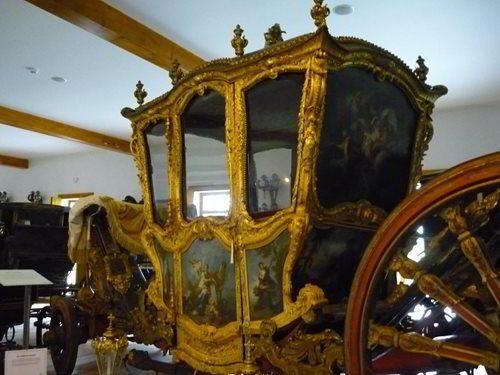 Muzeum historických kočárů Čechy pod Kosířem