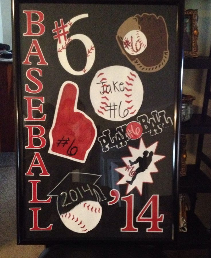 Senior Night Quotes For Softball: Framed To Use On His Senior