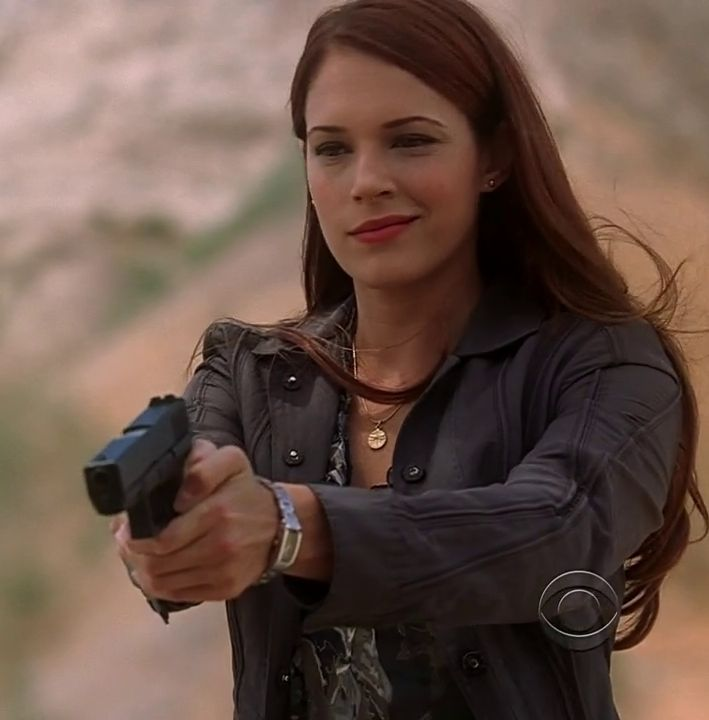 Amanda Righetti alias Grace Van Pelt (The Mentalist)