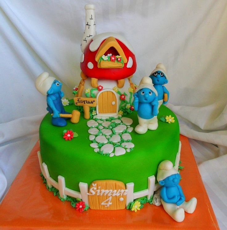 17 Best images about Smurf Cakes on Pinterest Birthdays ...