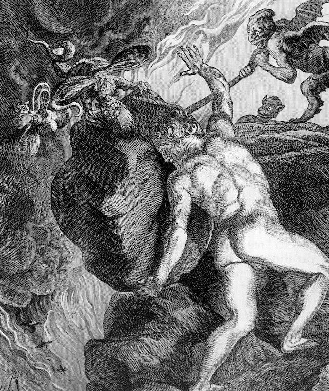 Albert Camus - Le Mythe de Sisyphe - La première parution philosophique de l'auteur, met en avant deux problématiques qui lui sont chères, auxquelles les Hommes sont confrontés au quotidien : l'éternel recommencement et l'absurdité.