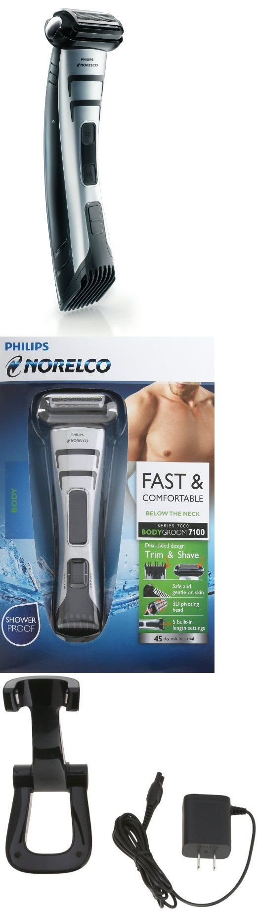 Mens Shavers: Philips Norelco Bodygroom Series 7100, Bg2040 =New Sealed= -> BUY IT NOW ONLY: $59.95 on eBay!