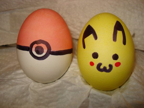Pokemon Easter eggs by Skye033 on DeviantArt