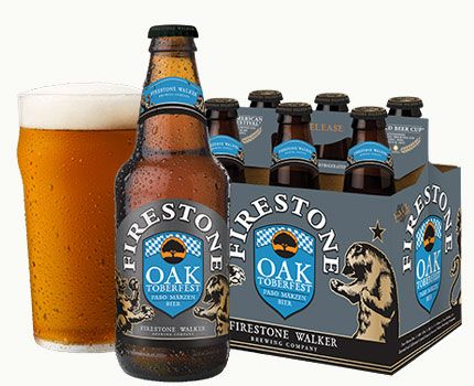 Firestone Walker Oaktoberfest is rich, more full-bodied and hoppier than most representations of the style