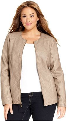 Trendy Plus Size Fashion for Women: Autumn Jackets
