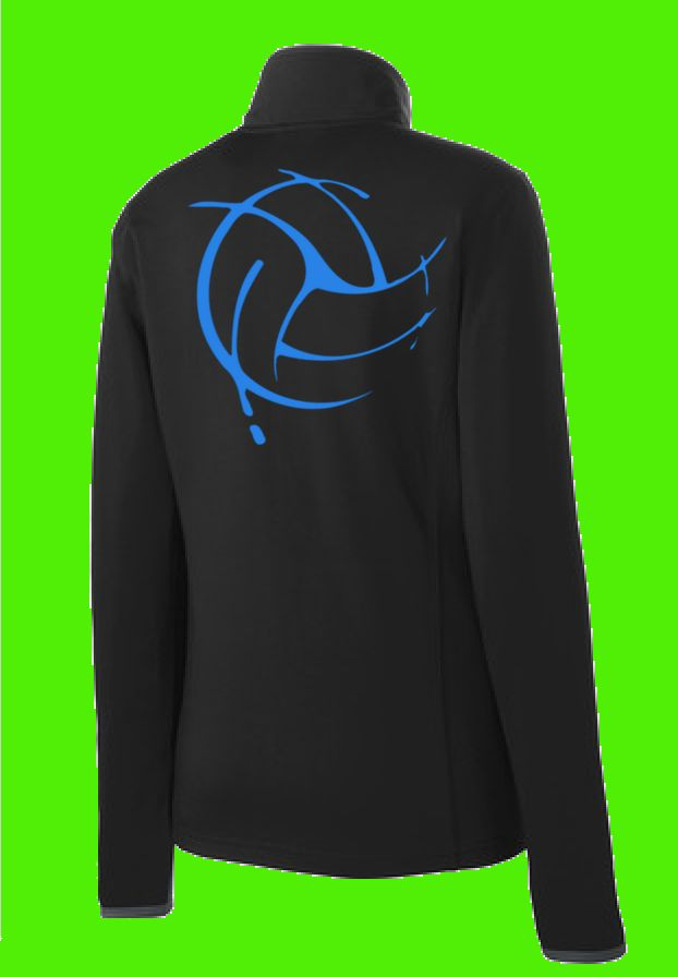 Keep moving in this moisture-wicking, soft-brushed jacket that's flexible and features hits of contrast color throughout. This 6.8-ounce, 90/10 poly/spandex jersey full zip jacket will have you lookin