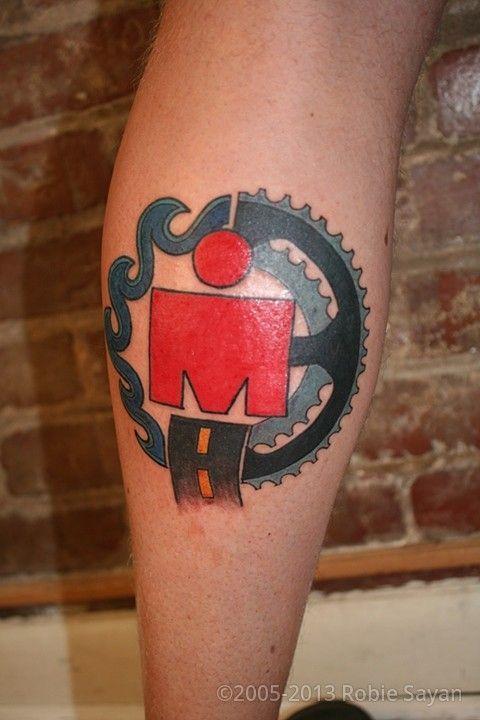 Los mejores tatuajes de triatlón - Planeta Triatlón