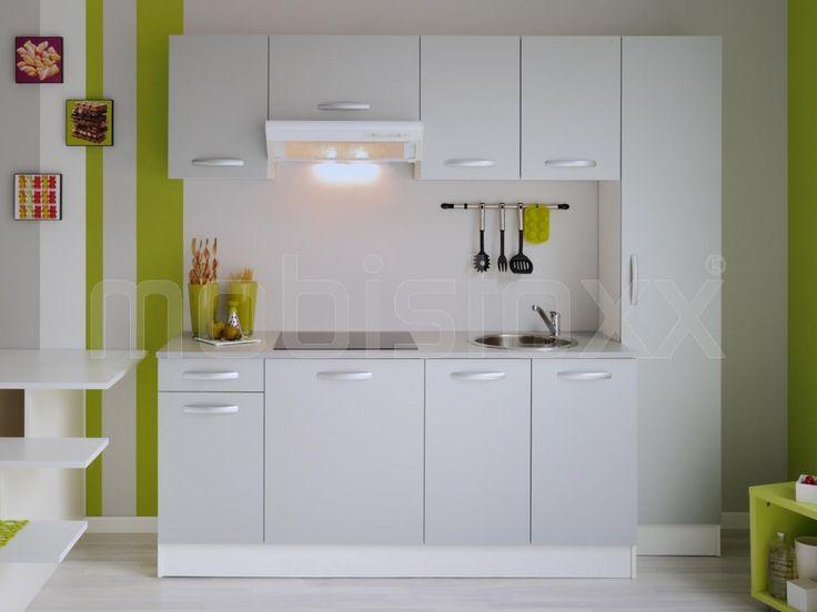 Keukenblok SYLVIE grijs | Mobistoxx | Meubels online | bureau, inkom, kinderkamer, slaapkamer, keuken, eetkamer, salon, zitbanken, relaxfauteuils en badkamer