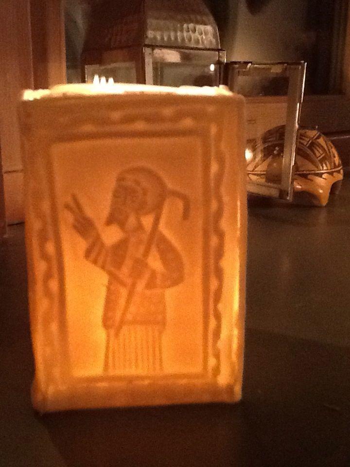 Tea light Coptic icon 2