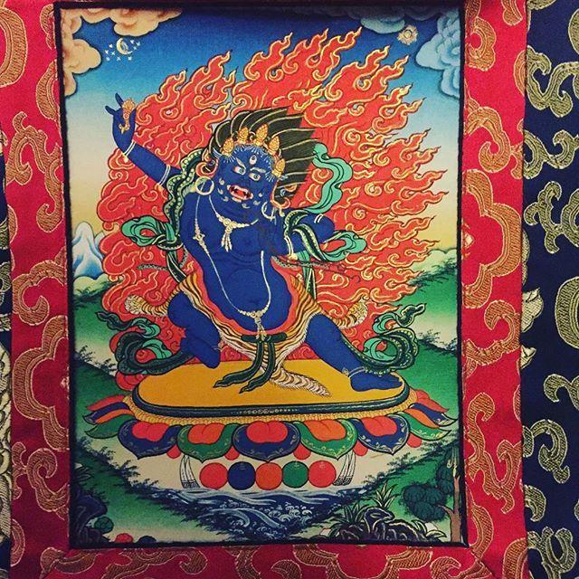 #Vajrapani #Thangka #kagyulineage #buddhism #buddha #karmapa #karmakagyu #karmapachenno #kagyu #mantra #mandala #mahakala #Rinpoche #Lama #Dharma #dupsengrinpoche #chogyalrinpoche #chogyal #dupseng #vajrayana #meditation