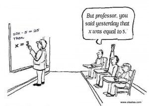 Funny school jokes: A professor was giving